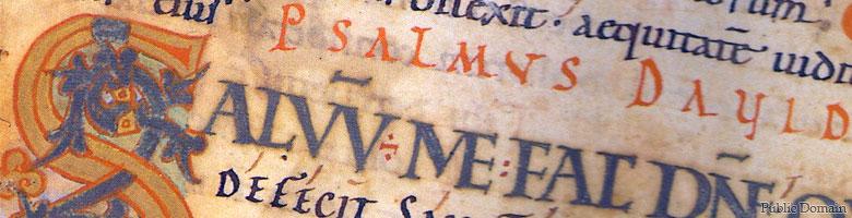 Psalter manuscript